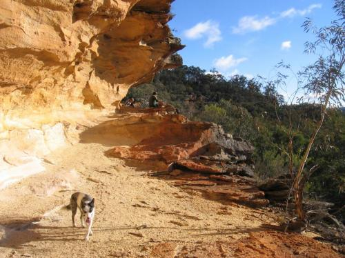 Ridge-top cave